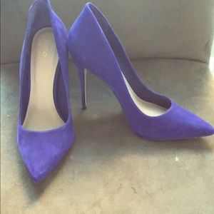 Purple Aldo heels